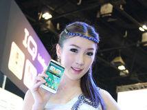 พริตตี้ i-mobile งาน Mobile Expo 2013