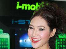 พริตตี้ สาวสวย งาน Thailand Mobile Show 2012