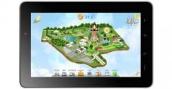 สมาร์ทแอพพลิเคชั่นบน i-note ในมหกรรมพืชสวนโลกเฉลิมพระเกียรติฯ ราชพฤกษ์ 2554