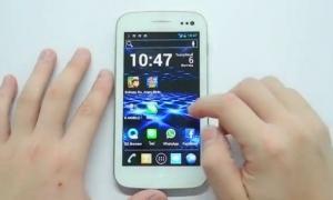 Review การใช้งาน i-mobile IQ5