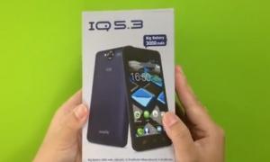 Review IQ5.3 ฟรี sim i-mobile 3gx ในเครื่อง